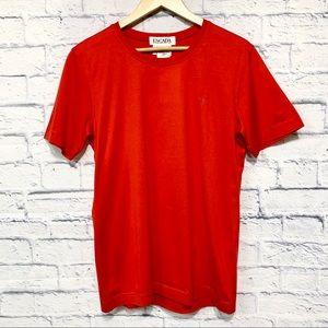 NWT Escada Margaretha Ley Logo Red Tshirt